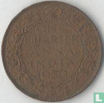 Brits-Indië ¼ anna 1939 (Calcutta)