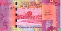 Samoa 5 Tala ND (2008)