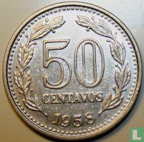 Argentinië 50 centavos 1958
