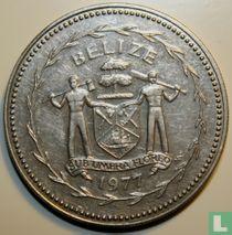"Belize 50 cents 1977 ""Frigate birds"""