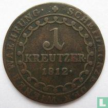 Austria 1 kreutzer 1812 (B)
