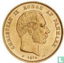 Denemarken 20 kroner 1874