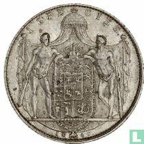 Denemarken 1 speciedaler 1840 (hart)