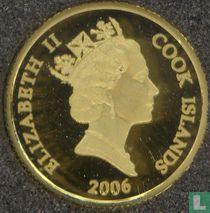"""Cookeilanden 10 dollars 2006 (PROOF) """"Lost Dutchman Mine"""""""