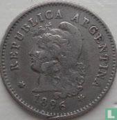 Argentina 10 centavos 1896