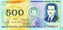 Peru 500 Soles