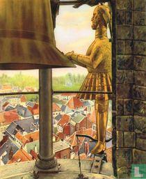 Nijvel - Onze volkstypen: Jan van Nijvel in zijn klokketoren