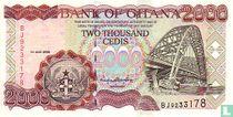 Ghana 2.000 Cedis 2000
