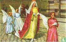Wevelgem - Groep uit de Processie van den Heiligen Doorn