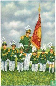 """Gerpinnes - De cadetten van de """"Marsch"""" van Sinte Rolende"""
