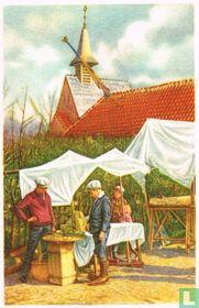 Affligem - De Kluiskapel tijdens de Processie