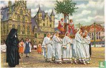 Mechelen - Processie van Onze-Lieve-Vrouw van Hanswijk