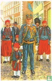 """Fosse - Het oudste en jongste lid van de """"marsch"""" van Sint-Feuillien"""