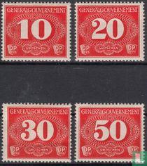 1940 Zustellungsmarken
