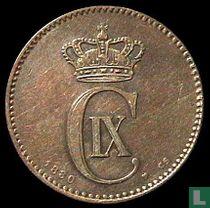 Denemarken 2 øre 1880