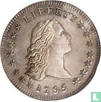 United States ½ dollar 1795 (small head)