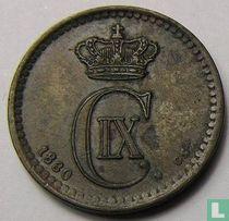 Denemarken 1 øre 1880