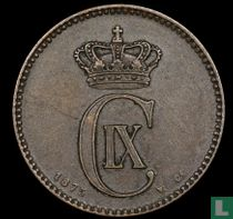 Denemarken 2 øre 1875