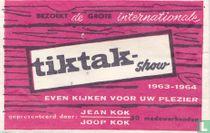 Internationale Tiktak-show