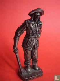 Musketier (zilver)