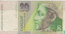 Slowakije 20 Korun (P20c)