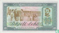 Albanië 10 Lekë 1976