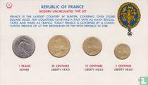 Frankrijk combinatie set 1965 - 1966