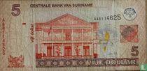 Suriname 5 Dollar 2006
