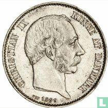 Denemarken 2 kroner 1899