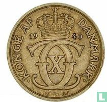 Dänemark ½ Krone 1940