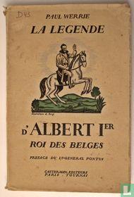 La légende d' Albert 1er Roi des Belges