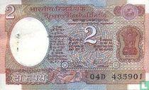 India 2 Rupees