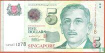 Singapour 5 Dollars
