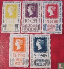 100 jaar postzegels (incompleet)