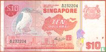 Singapore 10 Dollars