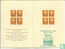 Kaart Pestalozzi Stichting Watersnood 1953