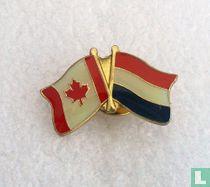 Vlaggen Canada - Nederland