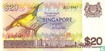 Singapore 20 Dollars