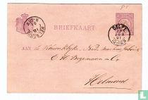 Carte postale Figure 1881