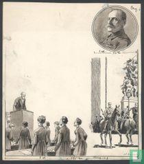 Originele tekening voor het weekblad Benjamin