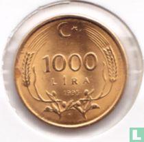 Turkije 1000 lira 1995