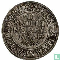 Denemarken 2 skilling 1560