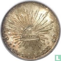 Mexico 8 reales 1884 (Zs JS)