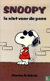 Snoopy is niet voor de poes