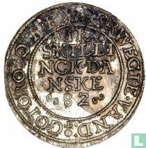 Denemarken 2 skilling 1582