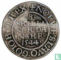 Denemarken 8 skilling 1544