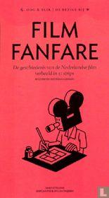 Filmfanfare - De geschiedenis van de Nederlandse film verbeeld in 51 strips
