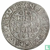 Denemarken 1 skilling 1563