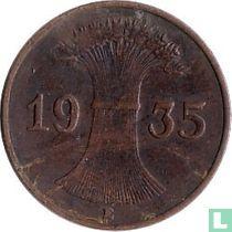 Duitse Rijk 1 reichspfennig 1935 (E)