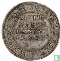 Denemarken 4 mark 1596